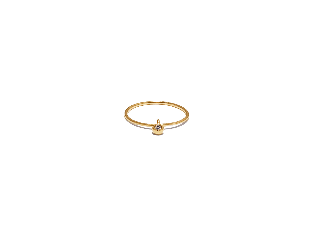 Anillo b light charm