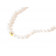 Collar B Pearls Lucky Eye Yellow