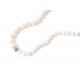 Collar B Pearls Lucky Eye White