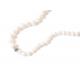 Collar B Pearls Lucky Eye White
