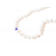 Collar B Pearls Lucky Eye Blue