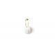 Pendiente B hoop pearl