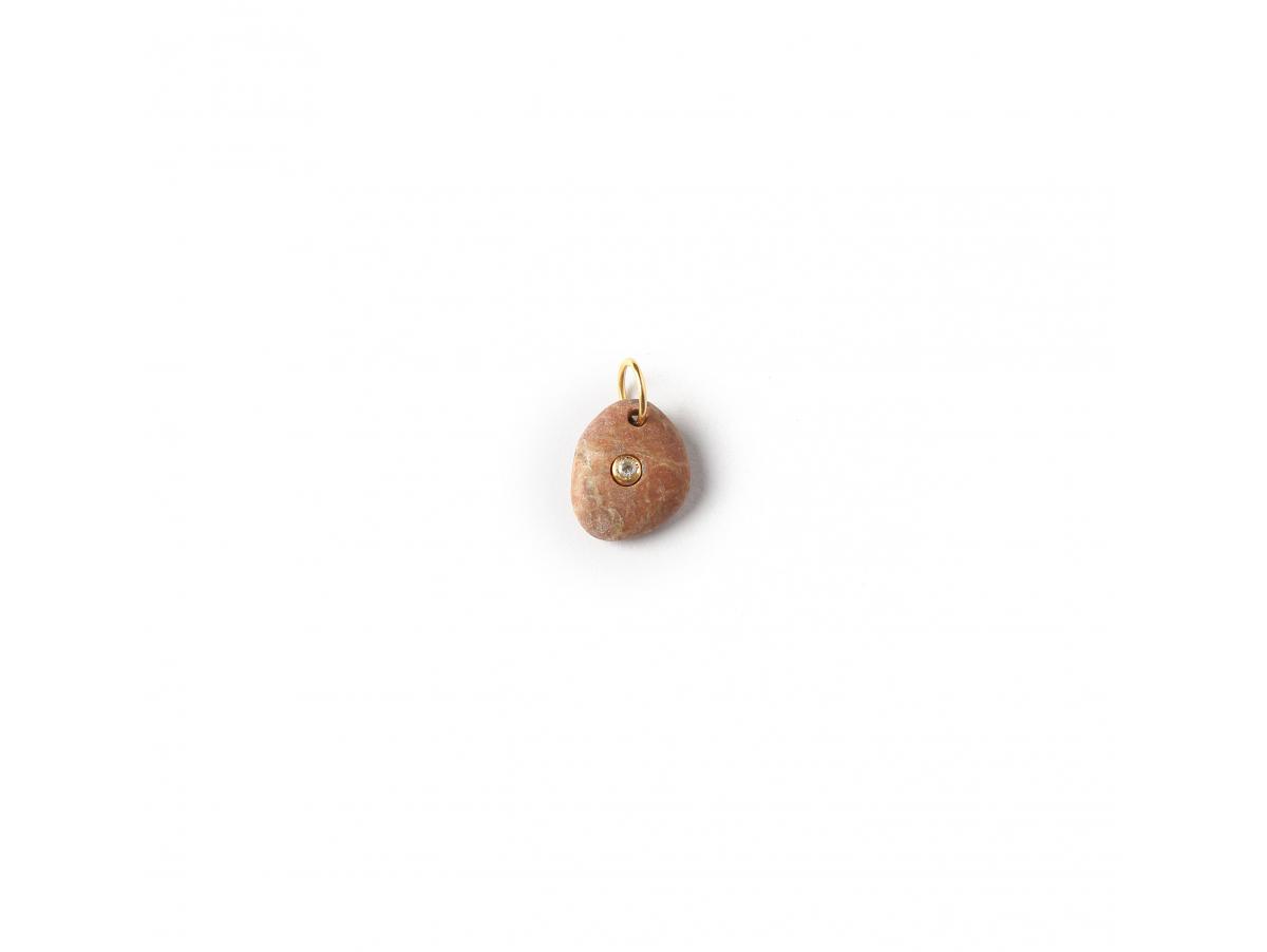 Colgante B Stone Naxos brown