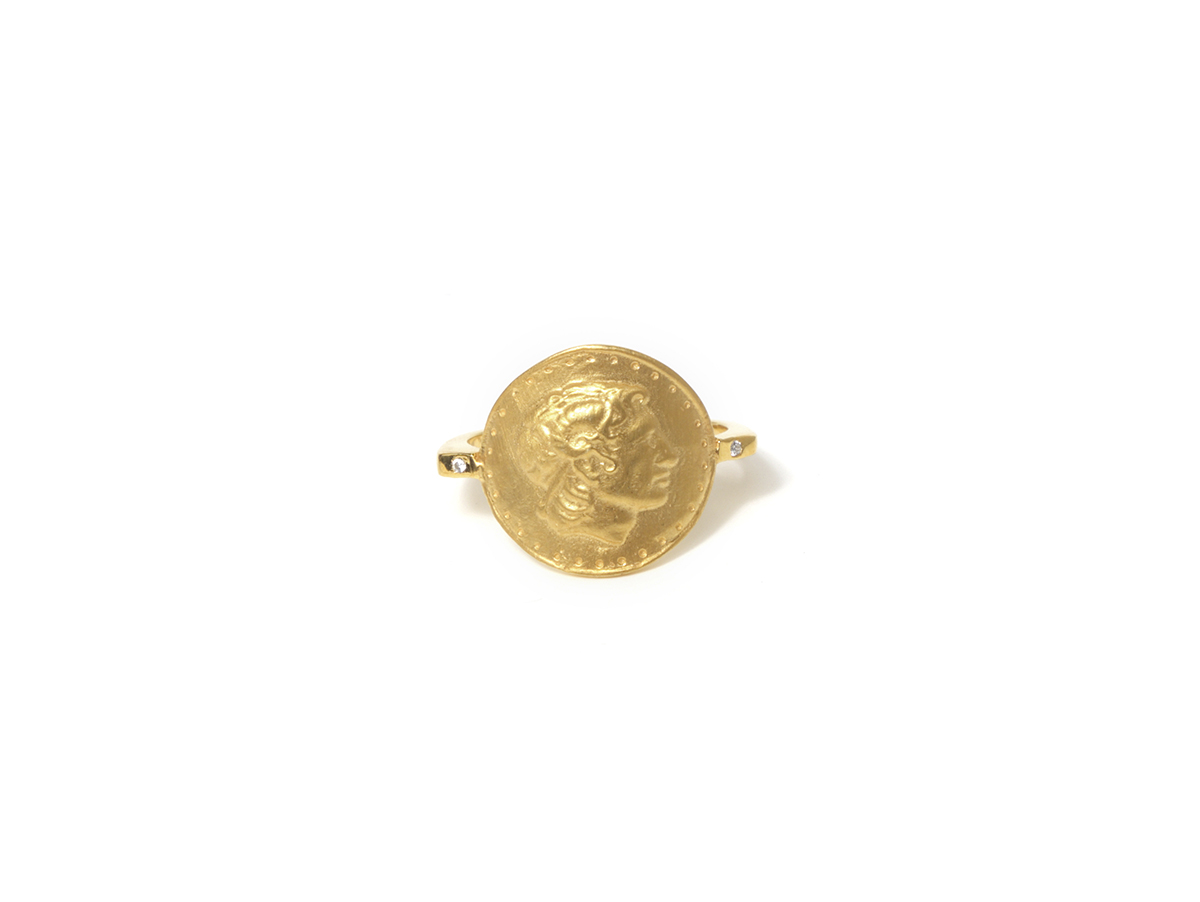 Anillo Sello B Ancient Coin