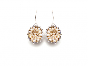 Pendientes BBubble Silver & Pearls