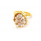 Anillo B Bubble Gold